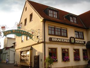 Brauerei Kraus in Hirschaid bei Bamberg
